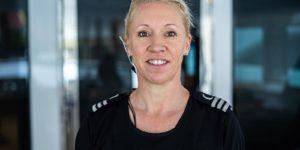 Chief Stewardess, Simone Seckington